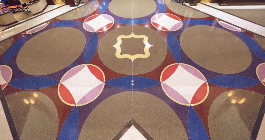 The Beauty Of Terrazzo Flooring All Stone Restoration Llc